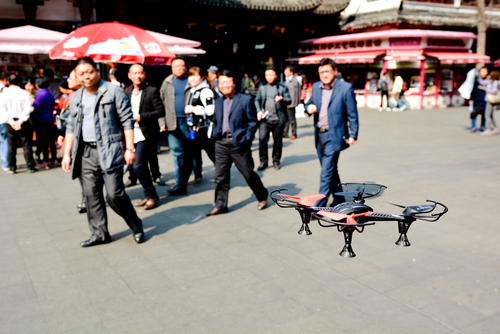Shanghai drone