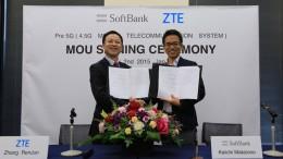 ZTE and SoftBank